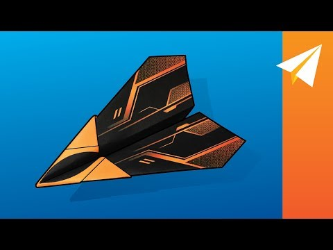 Download FLIES 100 PLUS FEET — How to Fold an Easy Plane  |  Arrowhead HD Mp4 3GP Video and MP3