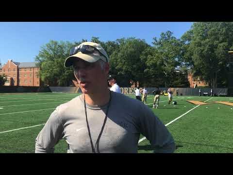 Head Coach Dave Clawson Interview - Aug. 6