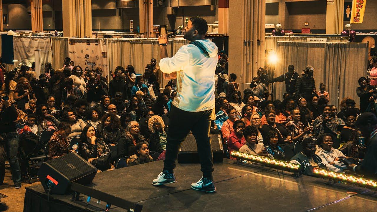 RJ Griffith - 2019 BETher Black Women's Expo Recap