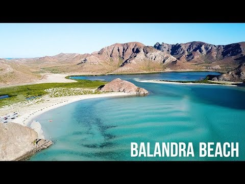 THE MOST BEAUTIFUL BEACH IN MEXICO - BALANDRA BEACH