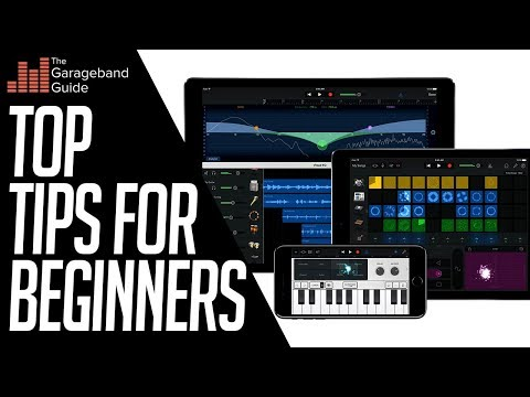 GarageBand Tutorial For Beginners 2018 iPad and iPhone