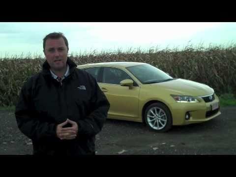 Lexus CT200h first test - What Car?