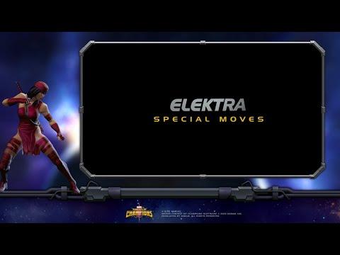 Elektra Special Moves