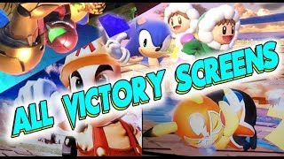 All Character Victory Animations - Smash Bros. ULTIMATE