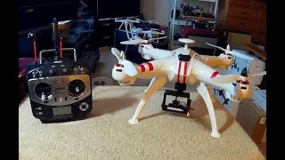"""OLD"" BAYANGTOYS X-16 WITH ""NEW"" JUMPER TX [WHAT"