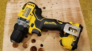 DeWalt Xtreme Sub-Compact 12v Brushless Drill Review