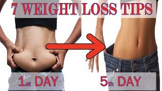 7 Weight Loss Tips in Hindi -100% Works | No dieting No Exercise | Priya Malik