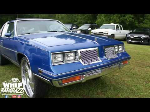 """G Body Oldsmobile Cutlass on 26"""" Rucci Forged Padrino Wheels"""