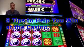 8 Tips to help you win at the Casino. Stop losing money!