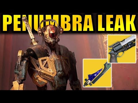 Destiny 2: New Penumbra DLC Leak! - Exotics, Destiny 3 Hints, New Activity!