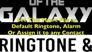 Guardians Of The Galaxy Theme Ringtone and Alert