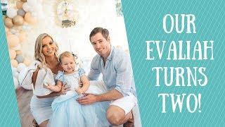 Evaliahs Cinderella Theme 2nd Birthday- A Message To Our Daughter