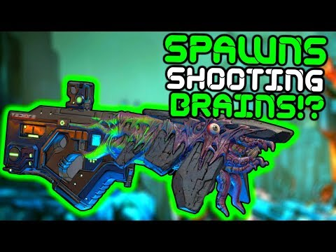 Borderlands 3 - THIS GUN SPAWNS SHOOTING BRAINS!? Smart-gun XXL Farming Guide!!