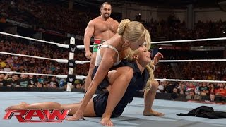 Mark Henry vs. Rusev: Raw, Aug. 10, 2015