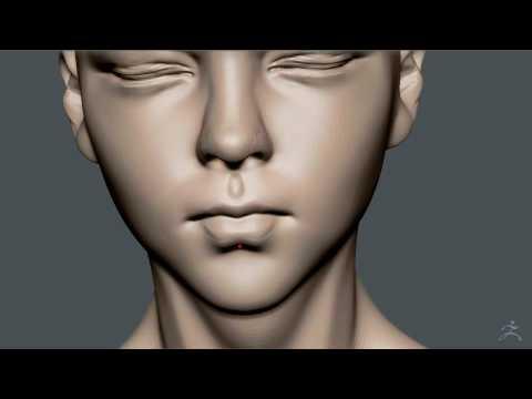 zbrush sculpting tutorial girl woman