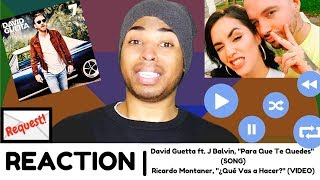 """Para Que Te Quedes"" (SONG) / ""¿Qué Vas a Hacer?"" (VIDEO) | REACTION"