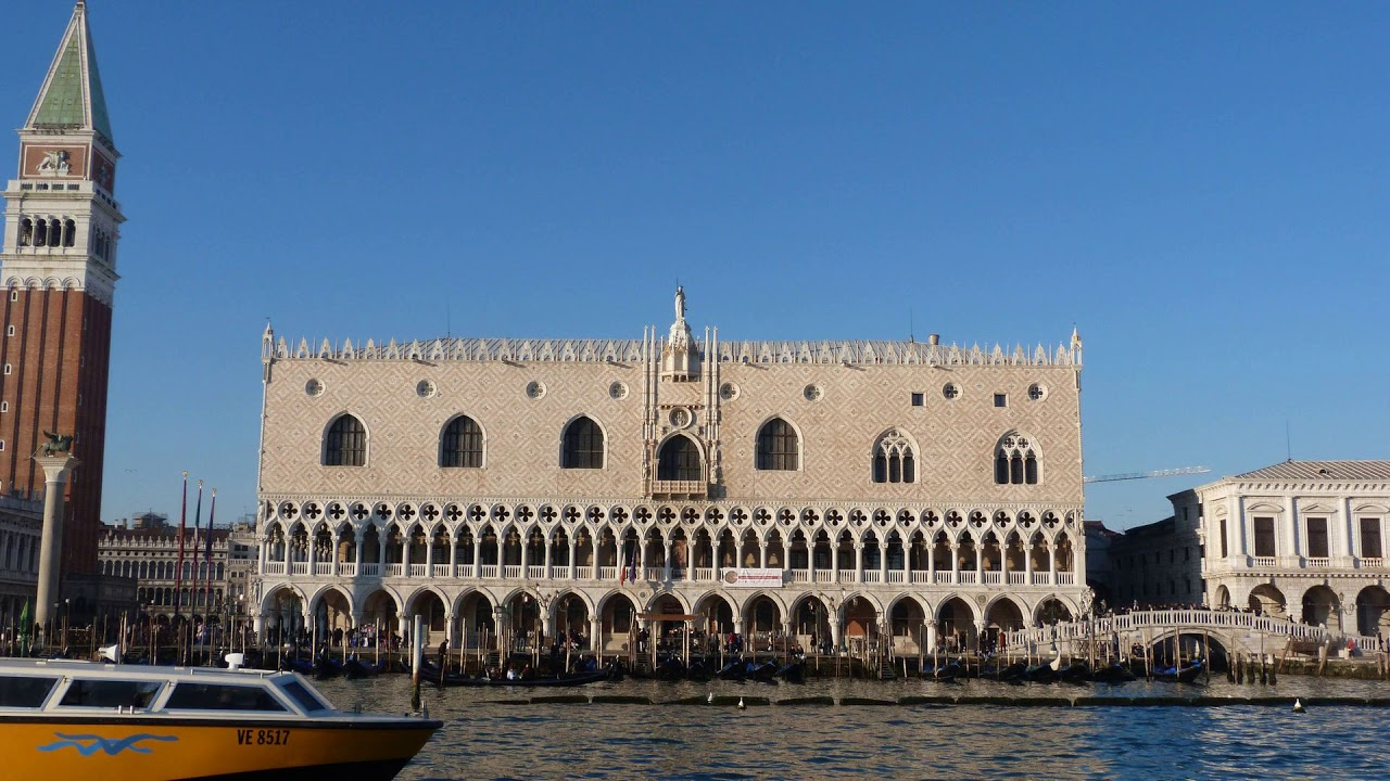 venice, italy, palace, bridge, Palazzo Ducale, Doge's Palace, Bridge of Sighs