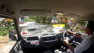 preview picture of video 'Kuah Langkawi, heading to the Seaview Hotel'
