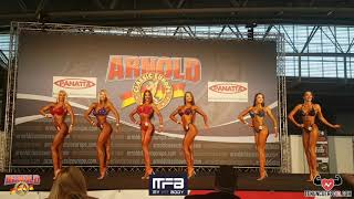 Arnold Classic Europe 2018 - Bikini fitness over 172 final