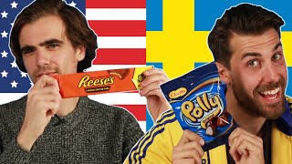 Americans And Swedes Swap Snacks