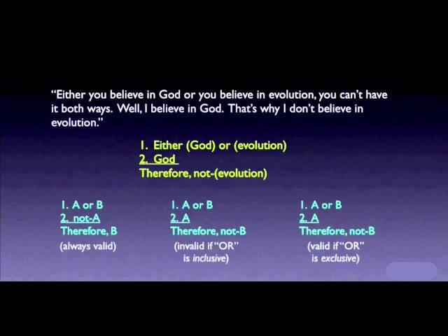 Video Pronunciation of false dichotomy in English