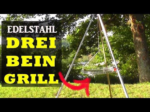 Schwenkgrills: Dreibeingrill aus Edelstahl - Schneider Grillgeräte