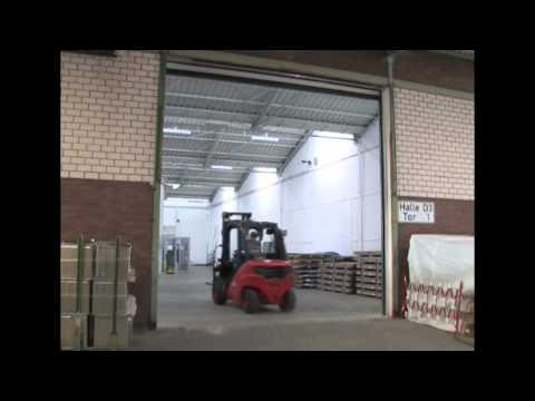 Heavy Duty Roller Doors from M.T.I Qualos