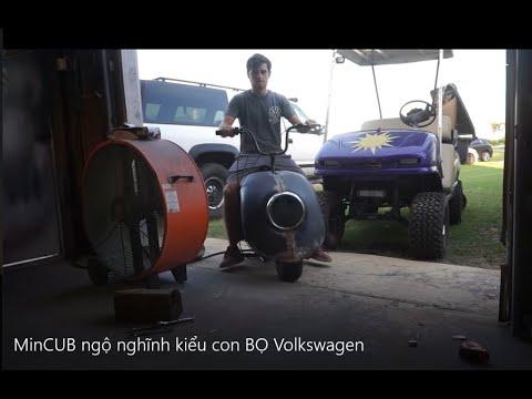 Biến miniCUB thành xe máy con BỌ cực vui mắt