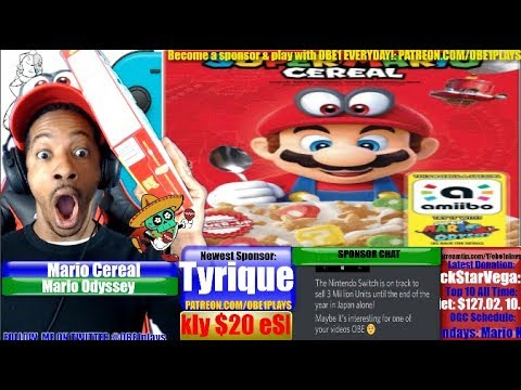 Super Mario Odyssey Cereal Is Real! This Is What It Will Taste Like Live!