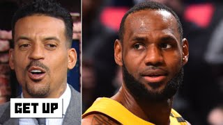 Matt Barnes: LeBron is on 'cruise control,' he'll be a problem in the playoffs | Get Up