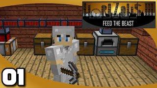 FTB Horizons 3 - Ep. 1: New Horizons to Pursue | Minecraft 1.12.2 Modded Survival