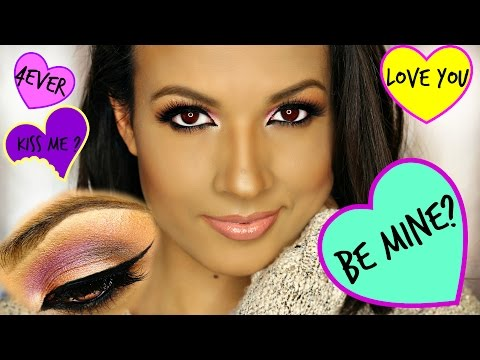 Valentines Makeup look Affordable Products AdriLunaMakeup