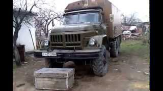 Первый в мире ЗИЛ 131 с двигателем КАМАЗ