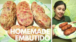 How to make Homemade Embutido