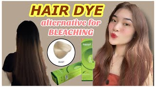 HAIR DYE AN ALTERNATIVE FOR BLEACHING!! (For Only 125 PESOS!!) No Bleaching | PHILIPPINES