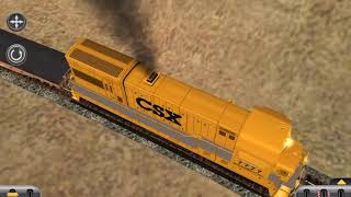 Review on New CSX U18B and New MOW Equipment Cars!!!