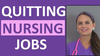 Quit a Nursing Job the Right Way by Doing These 5 Things