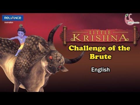 Little Krishna English - Episode 8 Challenge Of The Brute