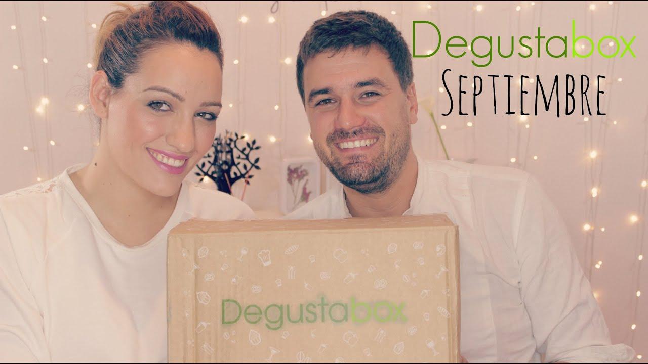 Unboxing cajita degustabox de septiembre