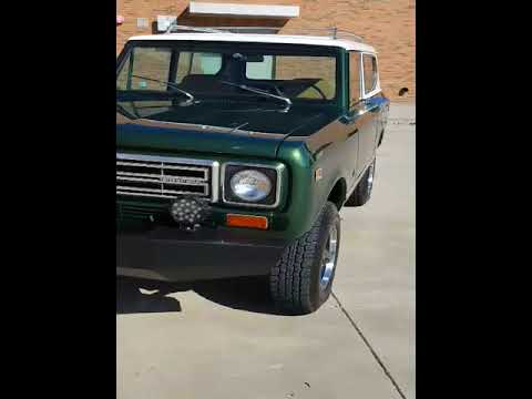 1977 International Harvester Scout II for Sale - CC-1040836