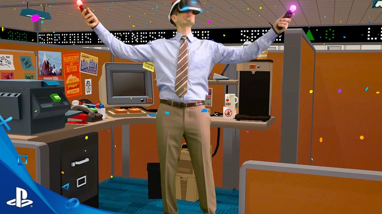 Prepare to Job with Job Simulator, Out October 13 on PS VR