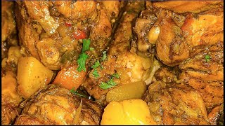 Jamaican Curry Chicken  How to make Curry Chicken