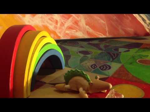 Rainbow Croc finds a Diamond