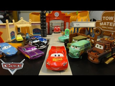 Disney Cars Collection From The Cars And Cars 2 Movies