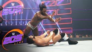 Rich Swann vs. Ariya Daivari: WWE 205 Live, May 23, 2017