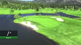 Edgewood Tahoe Golf Course - Hole 1