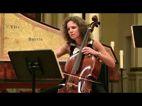 Geminiani - Sonata III for Violoncello and Basso Continuo in C Major - Andante & Allegro - 1 of 3