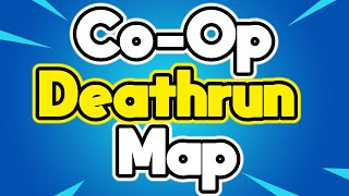 Fortnite 2 Player Co-Op Deathrun Map Trailer (Code In Description)