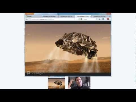 Cosmoquest Science Hangout 2012-06-20: Ravi Prakash, Curiosity EDL Engineer