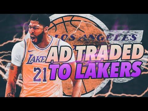 Signing KEMBA WALKER! Anthony Davis Los Angeles Lakers Rebuild! NBA 2K19